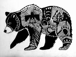 Image Result For Native American Tribal Bear Tattoos Dětský Pokoj