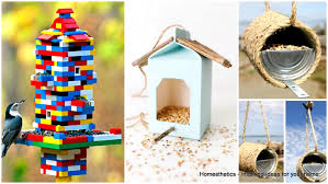 learn how to make 69 diy homemade bird feeders today