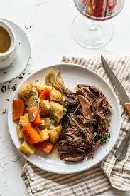 instant pot red wine venison roast