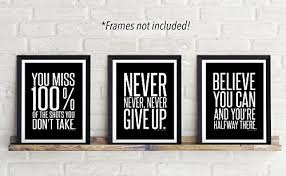 Picture Frames With Quotes New Set Of 448 Mini 48 X 48 Inch MotivationalInspirational Quote Wall