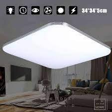 AUGIENB 1600LM 16W 5000K LED tavan ışıkları Modern lamba oturma odası  aydınlatma fikstür yatak odası mutfak yüzey montaj gömme panel|Ceiling  Lights
