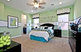 Modern Kids Bedroom with Ceiling fan, Carpet, West Elm Organic Pintuck  Duvet Cover,