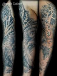 Tetování Rukáv Tetování Tattoo