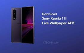 Download Sony Xperia 1 III Live ...