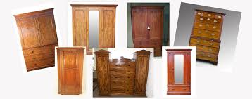 a selection of antique wardrobes on loveantiques com