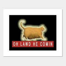 Chonk Chart Poster Chonk Cat Meme By Huschild