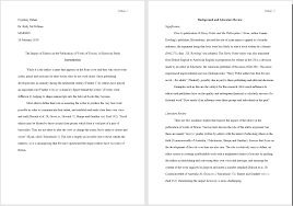 Mla Format For Papers And Essays Sample Paper