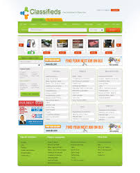 classified website template teamtractemplate s all classified ad website templates our web templates jah1qtpf