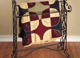 Tuscan Brown Wrought Iron Quilt Blanket Bathroom Bath Towel Rack ... & Tuscan Brown Wrought Iron Quilt Blanket Bathroom Bath Towel Rack Wrought  Iron Quilt Holder Wrought Iron Quilt Hangers For Walls Wrought Iron Quilt  Hanger Adamdwight.com