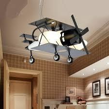 light bedroom lights aircraft cartoon