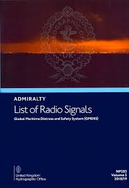 British Admiralty Charts List Admiralty List Of Radio Signals Vol 5 Global Maritime Distress Safety Sys