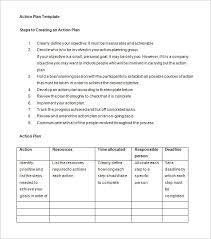 Business Action Plan Business Action Plan Template 100 Free Sample Example Format 2