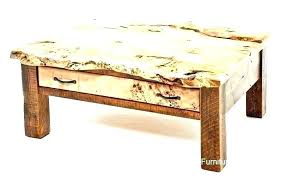 rustic leather cocktail ottoman coffee table fascinating wood