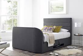 Annecy Storage Media King Size TV bed Frame