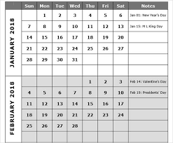 Calendar Templates Microsoft Office Best Free 2018 New Year Calendar For Excel Word Ms Office