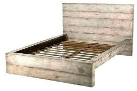 Bed Frame Queen Size Platform Wood Bed Wood Platform Bed Frame Queen ...