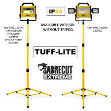 Tripod Site Light Double 1000w 240v Details About Sabrecut Professional Led Work Site Light Floodlight 3000 5000w Ip54 High Power