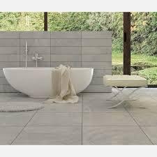 sensestone light grey matt wall and