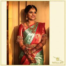 Simple Saree With Heavy Designer Blouse 35 Exclusive Saree Blouse Designs For Every South Indian