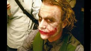 the joker without makeup scene