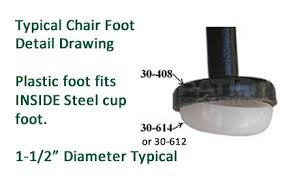 Feet And Glides For Patio Furniture Tables And Chairs