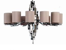 black modern chandeliers. Modern Chandelier OL711NN32 Polished Nickel Black Chandeliers