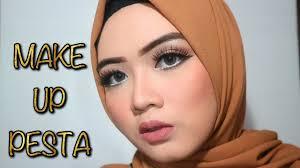 party makeup tutorial tutorial makeup ke pesta