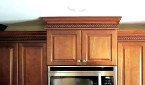 cabinet crown molding to ceiling kitchen crown molding ideas in kitchen cabinet molding