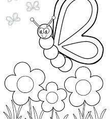Butterfly Coloring Sheet Printable Butterfly Coloring Page Related