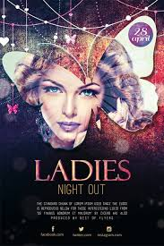 Ladies Party Free Psd Flyer Template Download Flyer Best