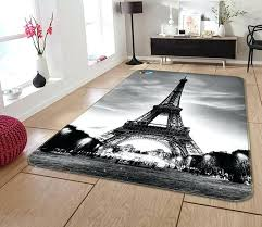 eiffel tower rug tower non slip rug mat eiffel tower area rug