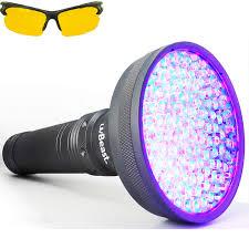 Black Light Commercial Electrovision Portable Ultra Violet Black Light Lamp Torch