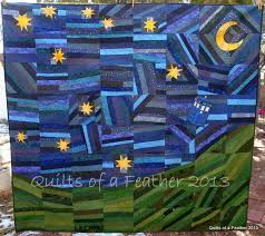 Quilts of a Feather: The Doctor's Starry Night Quilt | Quilting ... & Quilts of a Feather: The Doctor's Starry Night Quilt Adamdwight.com