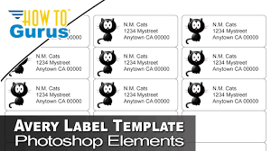 Avery Template 88220 How To Use Free Avery Label Photoshop Templates In Photoshop