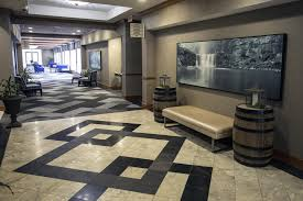 the lobby or reception area at hilton garden inn louisville airport