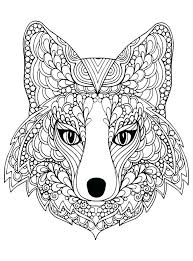 Wolf Coloring Pages For Adults Wolf Coloring Pages Hard Wolf Color