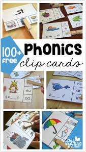 * we already have a beginning sounds chart, but the alphabet sounds chart i'm posting today is a little simpler for younger learners. 100 Free Phonics Clip Cards This Reading Mama Phonics Free Phonics Teaching Phonics