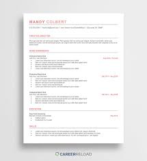Free Word Resume Templates Free Microsoft Word Cv Templates