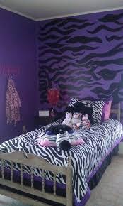 girl bedroom ideas zebra purple. Purple White And Black Zebra Bedroom (Change To Hot Pink W/Lime Green Girl Ideas