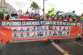Resultado de imagem para deputados cearenses a maioria são contra a reforma da previdencia