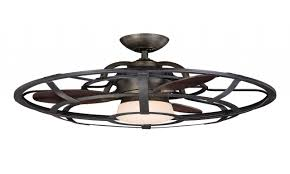 Kitchen Fan With Light Ceiling Fans With Lights Caged Fan Outdoor Throughout