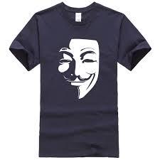 <b>2019 men's T shirts</b> summer short sleeve t shirt V for Vendetta men's ...