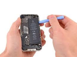 byta batteri i iphone