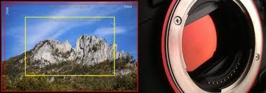 full frame vs cropped frame cameras