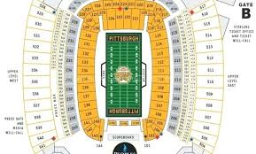 Heinz Field Seating Chart Row Numbers Heinz Field Seating Map Nounchi Info