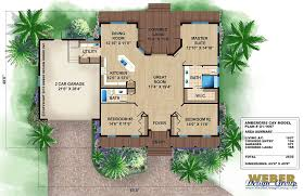 Tropical House Plans Coastal Waterfront Island Styles With Photos