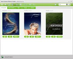 themes create download sony ericsson themes creator 4 16 2 6
