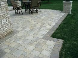 cost of brick patio raised patio brick patios raised patio cost average brick paver patio