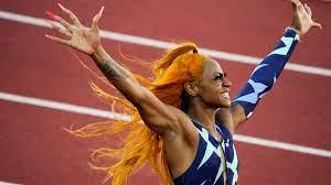 Former LSU track star Sha'Carri ...