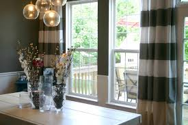 Modern Dining Room Curtain Ideas Kiln Dried Wood Frame White - Dining room curtain designs